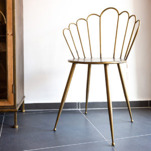 Originální jídelní židle v industriálním stylu (1ks)